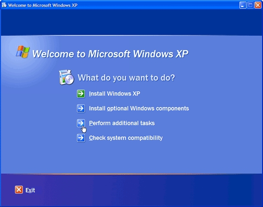 Install Windows Backup on Windows XP Home Edition | Red Data
